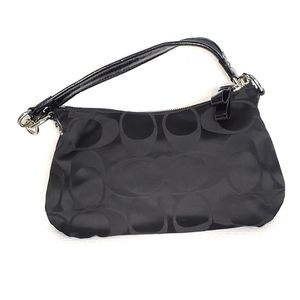 Coach Bags - Coach Shoulder Poppy Bag Purse Fabric Patent
